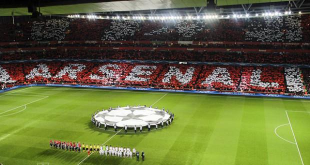 Emirates Arsenal Champions League