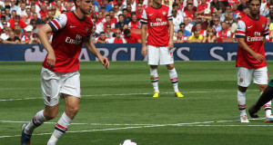 Do Arsenal's centre back options need bolstering? | Photo Ronnie MacDonald