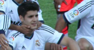 Does Morata have the quality to lead the line for the Gunners? - Photo via JulioTFP